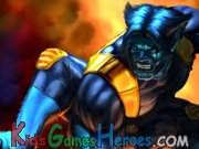 Play Wolverine and the X-Men - Beast's Wall Smash