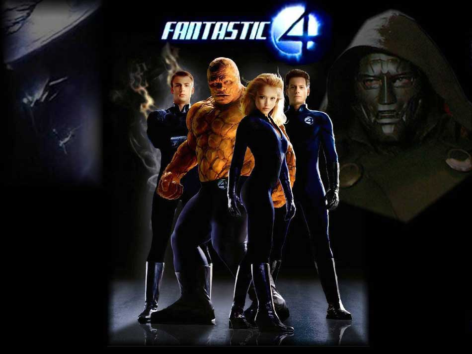fantastic four games