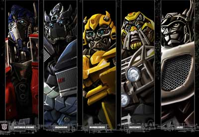 Transformers Characters