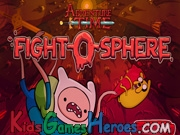 Play Adventure Time - Fight O Sphere