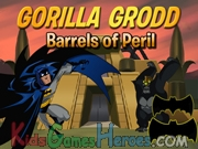 Play Batman - Gorilla Grodd , Barrels of Peril