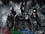 Play Batman The Dark Knight Rises - Hidden Letters