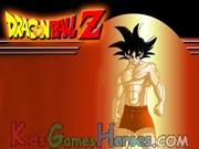 Play Dragon Ball Z - Goku Dress Up