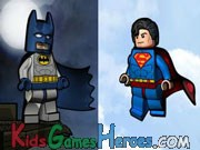 Play Lego - Super Heroes - DC Universe