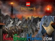 Play Lego - The Lord Of the Rings: Battle At Black Gate
