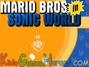 Play Mario Bros in Sonic World