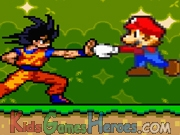 Play Mario Vs Goku - Animation