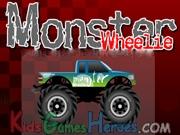 Monster Wheelie Icon