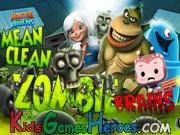 Monsters Vs Aliens – Mean, Clean, Zombie…Brains