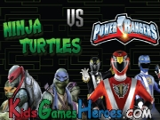 Ninja Turtles  VS Power Rangers Icon