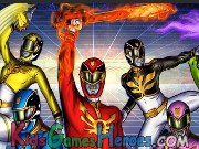 Play Power Rangers - Never Surrender