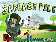 Regular Show - Garbage Pile Icon