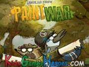 Play Regular Show - Paint War