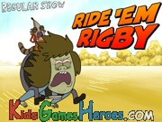 Regular Show - Ride ´Em Rigby Icon