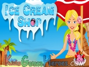 Play Sara's Beach Ice Cream