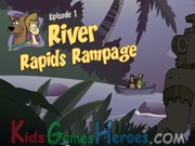 Play Scooby Doo - River Rapids Rampage