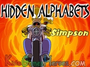 Play Simpsons - Hidden Alphabet