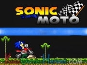 Sonic the Hedgehog Moto Icon