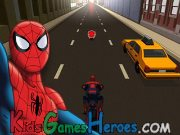 Play Spiderman - Ultimate Spider-Cycle