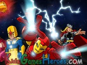 Play Super Hero Squad - Stones Of Thanos