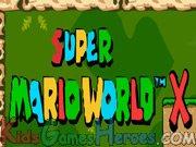 Play Super Mario World X