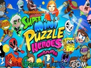 Play Super Mini Puzzle Heroes Multiplayer