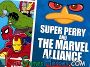 Super Perry And The Marvel Alliance Icon
