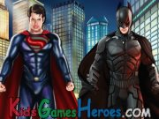 Play Batman Vs Superman Dress Up