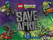 Teenage Mutant Ninja Turtles - Save April Icon