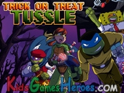 Play Teenage Mutant Ninja Turtles - Trick or Treat Tussle
