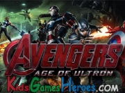 Play The Avengers: Age Of Ultron - Find The Letters