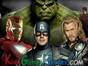 The Avengers - Spot the Differences Icon