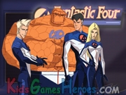 Play The Fantastic Four - Mechanized Maelstrom