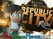 The Legend of Korra - Republic City Run Icon