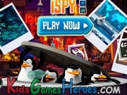 Play The Penguins of Madagascar - I Spy
