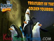 Play The Penguins of Madagascar - Treasures of the Golden Squirrel