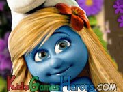 Play The Smurfs - Smurfette's Spot The Difference
