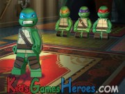 TMNT - Nija Training - Lego Icon