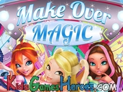 Play Winx Club - Make Over Magic