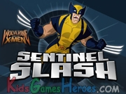 Play Wolverine Sentinel Slash